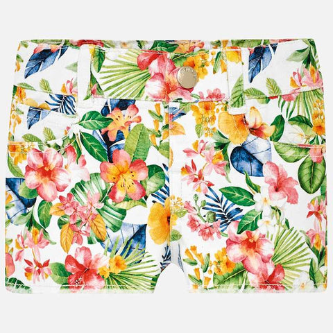 Pantaloni Corti Tropical Geranio | MAYORAL | RocketBaby.it