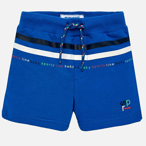 Pantaloni Corti Sportivi con Righe Pacifico | MAYORAL | RocketBaby.it