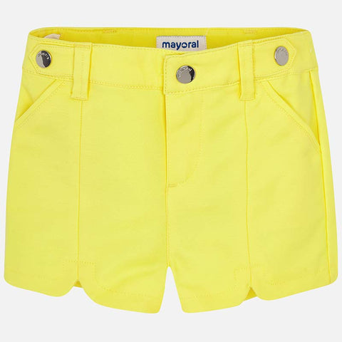 Pantaloni Corti Satin Giallo | MAYORAL | RocketBaby.it