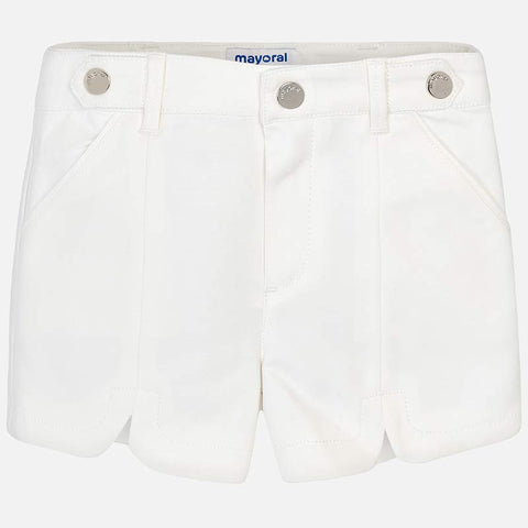 Pantaloni Corti Satin Panna | MAYORAL | RocketBaby.it