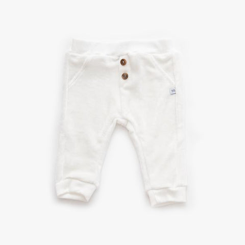 Pantaloni In Velluto Offwhite | BAMBOOM | RocketBaby.it