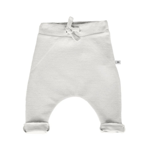 Pantaloni Tinta Unita In Bamboo White | BAMBOOM | RocketBaby.it