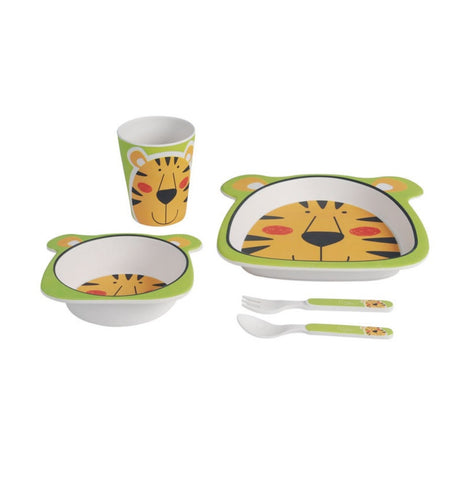 Set Pappa In Bamboo Tiger | NIU | RocketBaby.it