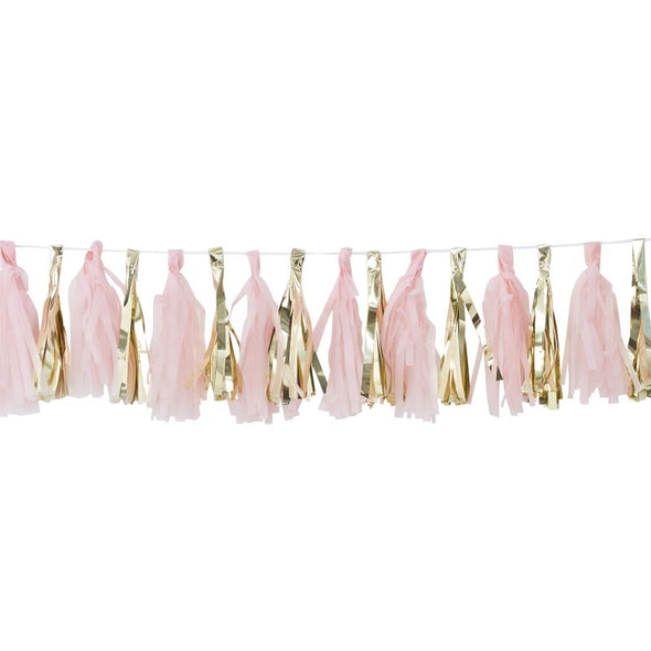 Ghirlanda con Nappe Pink and Gold | GINGER RAY | RocketBaby.it