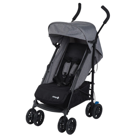 Passeggino Leggero Up to Me Black Chic | SAFETY 1ST | RocketBaby.it
