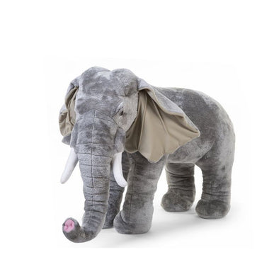 Peluche XXL 90 cm Elefante | CHILDHOME | RocketBaby.it