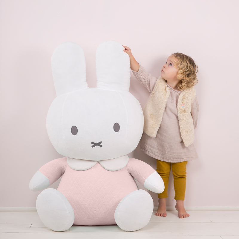 Peluche XXL Miffy Rosa | TIAMO | RocketBaby.it