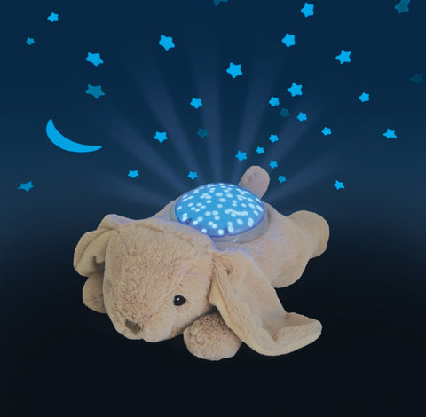 Peluche Proiettore di Stelle Twilight Buddies Tan Bunny | CLOUD B | RocketBaby.it