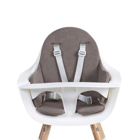 Cuscino per Seggiolone Evolu Warm Grey | CHILDHOME | RocketBaby.it