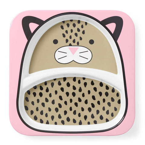 Piatto con Scomparti Leopardo | SKIP HOP | RocketBaby.it