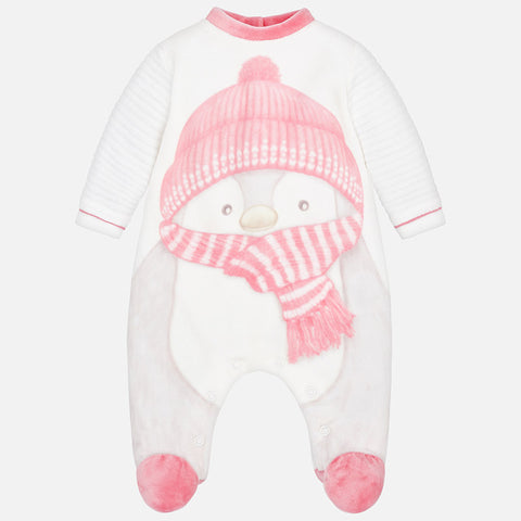 Pigiama Intero Pinguino Blush | MAYORAL | RocketBaby.it