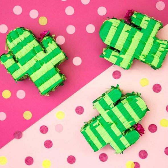 Pignatta Mini Cactus | PARTY DECO | RocketBaby.it