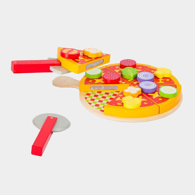 Set Gioco Pizza da Tagliare | LEGLER | RocketBaby.it
