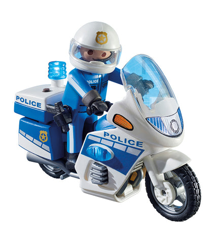 Playmobil Poliziotto in Moto | PLAYMOBIL | RocketBaby.it