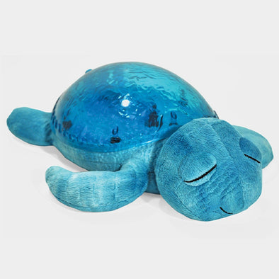 Peluche Proiettore di Luci Tranquil Turtle Aqua | CLOUD B | RocketBaby.it