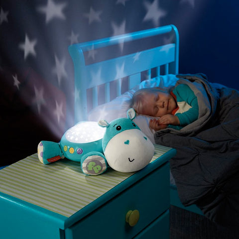 Peluche Musicale e Proiettore di Stelle Hippo | FISHER PRICE | RocketBaby.it