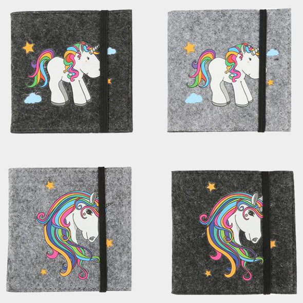 Set 4 Quaderni con unicorno | LEGLER | RocketBaby.it