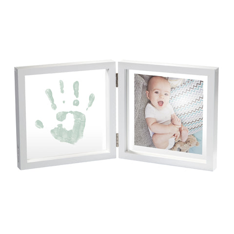 Cornice Doppia My Baby Style Transparent con Impronta 2D | BABY ART | RocketBaby.it