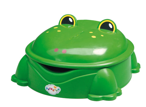 Sabbiera Frog con Coperchio Parapioggia | 3TOYSM | RocketBaby.it