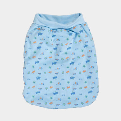 Sacco Nanna Mezzobusto Interlock Allover Light Blue | PLAYSHOES | RocketBaby.it