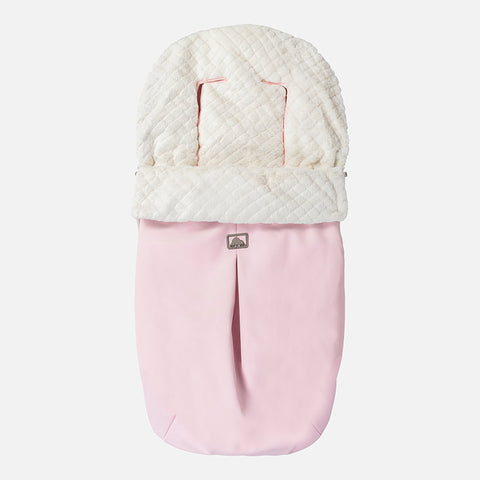 Sacco Passeggino Similpelle Rosa Baby  a48ef6924d3d