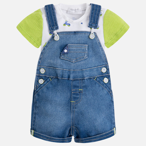 Completo Salopette Jeans Kiwi | MAYORAL | RocketBaby.it