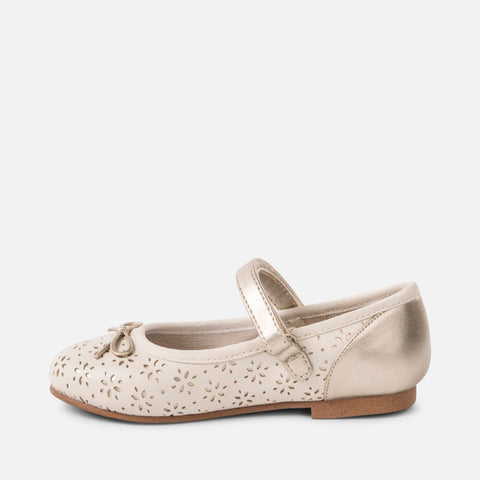Scarpe Ballerine Traforate Champagne | MAYORAL | RocketBaby.it