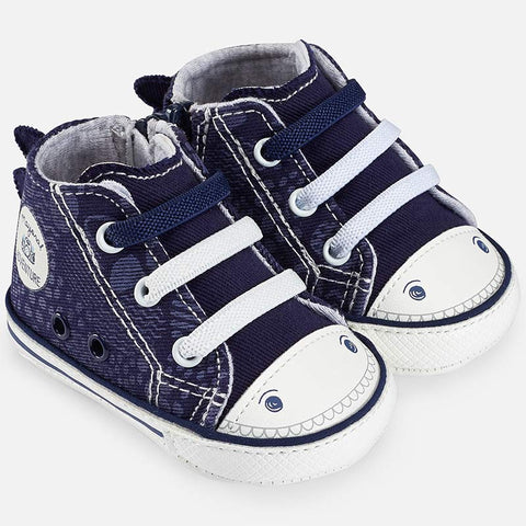 Sneakers Soft Sole con Zip Dino Navy | MAYORAL | RocketBaby.it