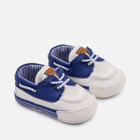 Scarpe Soft Sole Nautico Bianco | MAYORAL | RocketBaby.it