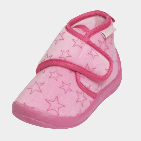 Scarpe Antiscivolo da Casa Pastell Light Pink | PLAYSHOES | RocketBaby.it