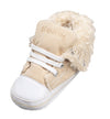 Sneakers Imbottite in Pile Beige | PLAYSHOES | RocketBaby.it