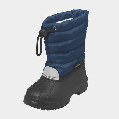 Stivali da Neve con Coulisse Navy | PLAYSHOES | RocketBaby.it