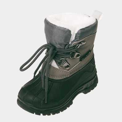 Stivali da Neve con Stringhe Grey | PLAYSHOES | RocketBaby.it