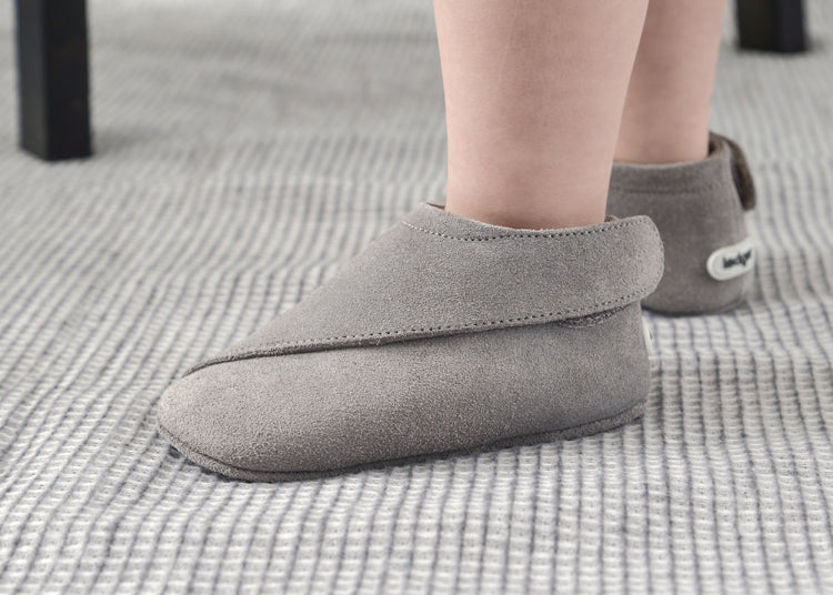 online store 7bd5f 96c9e LODGER-Scarpe Soft Sole Leather Light Grey – RocketBaby
