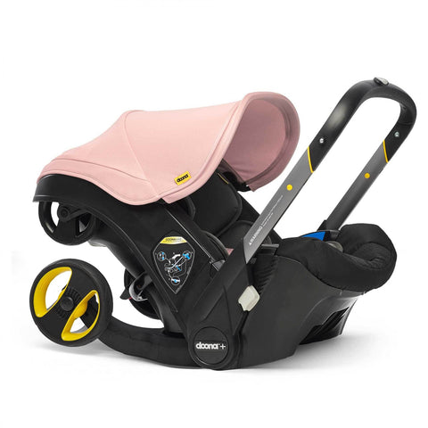 Seggiolino Auto E Passeggino 2 In 1 Doona Plus Rosa Blush | DOONA | RocketBaby.it