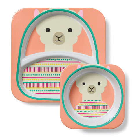 Set Piatto e Ciotola Lama | SKIP HOP | RocketBaby.it