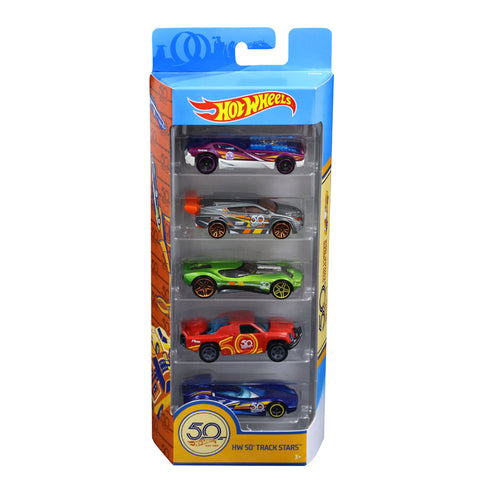 Set 5 Macchinine Hot Wheels 50th Anniversary | MATTEL | RocketBaby.it