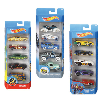 Set 5 Macchinine Hot Wheels | MATTEL | RocketBaby.it