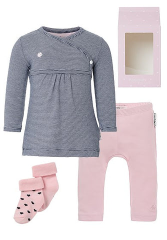 Set Regalo Baby Outfit Basic  Rosa - RocketBaby - 1