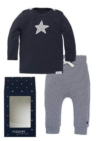 Set Regalo Baby Outfit Basic Blu Stella - RocketBaby - 1