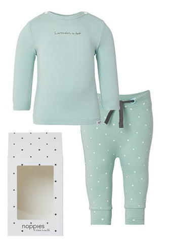 Set Regalo Baby Outfit Basic Menta - RocketBaby - 1