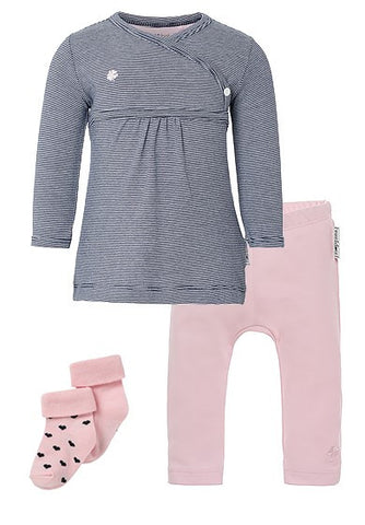 Set Regalo Baby Outfit Basic  Rosa - RocketBaby - 2