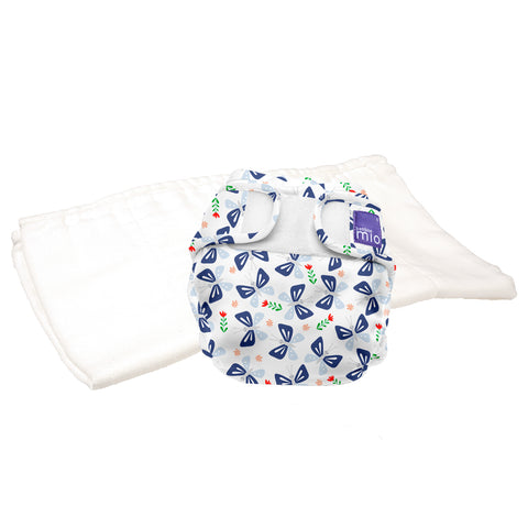 Set Pannolino Lavabile e Cover Miosoft Butterfly Bloom | BAMBINO MIO | RocketBaby.it