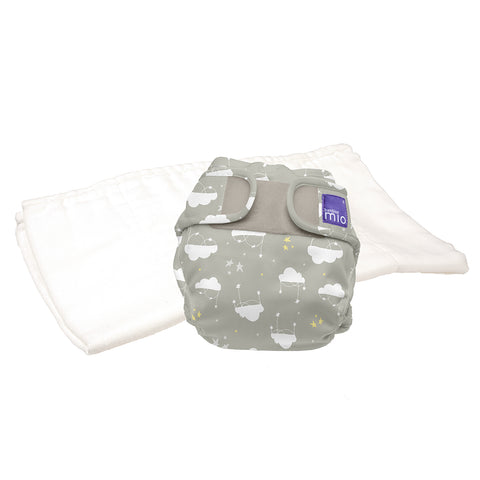 Set Pannolino Lavabile e Cover Miosoft Cloud Nine | BAMBINO MIO | RocketBaby.it
