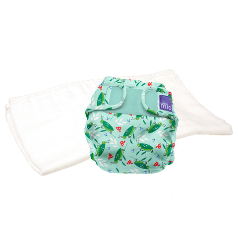 Set Pannolino Lavabile e Cover Miosoft Happy Hopper | BAMBINO MIO | RocketBaby.it