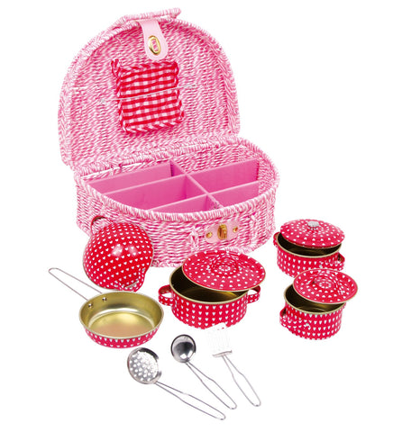 Set Stoviglie Gioco Emily | LEGLER | RocketBaby.it