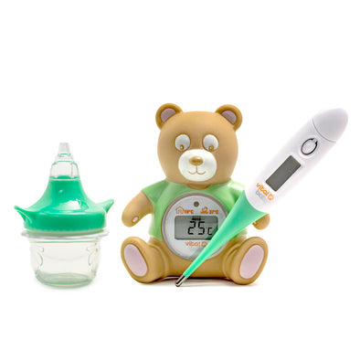 Set Termometri e Decongestionatore Nasale Health and Safety | VITAL BABY | RocketBaby.it