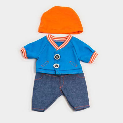 Set Vestiti per Bambola 21cm Jeans | MINILAND | RocketBaby.it