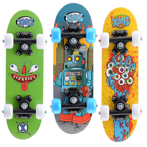 Mini Skateboard Double Kick 43 cm | TOYRIFIC | RocketBaby.it