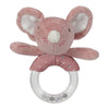 Sonaglio con Anello Mouse Rosa | TIAMO | RocketBaby.it